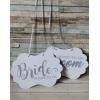 AHŞAP GÖRÜNÜMLÜ SOON TO BE BRIDE-GROOM LEVHA TAKIMI