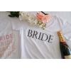 SİYAH BRIDE BASKI DETAYLI GELİN TİŞORT