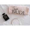 SİYAH TEAM BRIDE BASKI DETAYLI PEMBE NEDİME TİŞORT