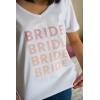 ÇOKLU BRIDE BASKI DETAYLI GELİN TİŞORT