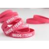 Bride Team Baskılı Silikon Nedime Bileklik